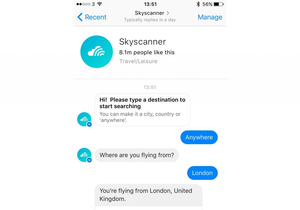 bots de skyscanner