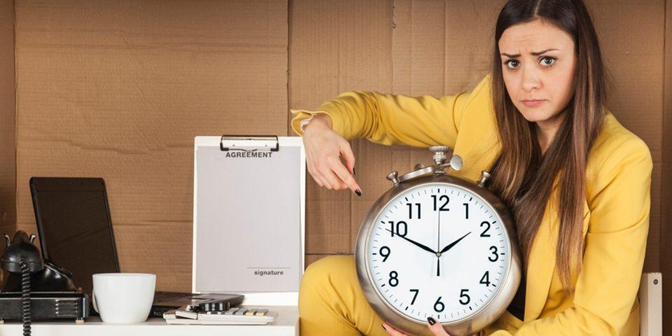 trabajo horario 9h a 18h horas