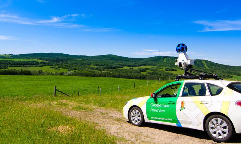 google street view maps negocio fotografia