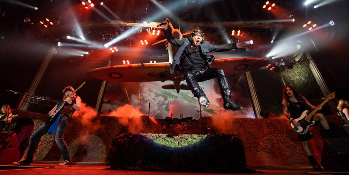 Las lecciones del líder de 'Iron Maiden' a los emprendedores