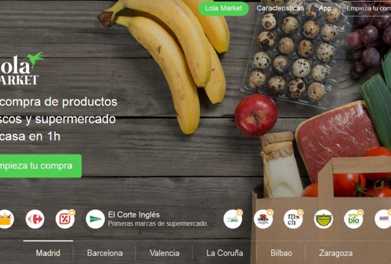 Lola Market es un supermercado online