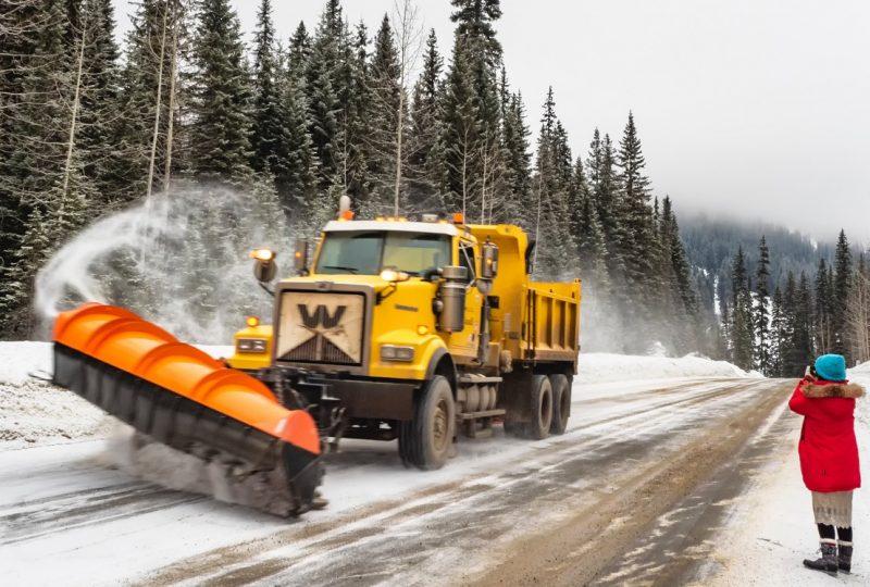 Trabajador fijo discontinuo de la vialidad invernal