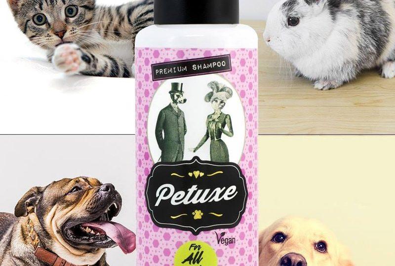 La empresa española Petuxe Cosmetics ha creado la primera línea ecológica de champús para animales de compañía.