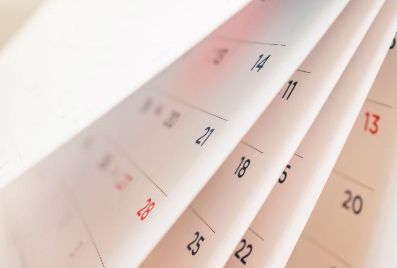 Calendario del autónomo 2020