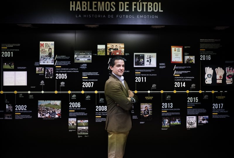 Javier Sanchez Broto. Director General de Futbol Emotion