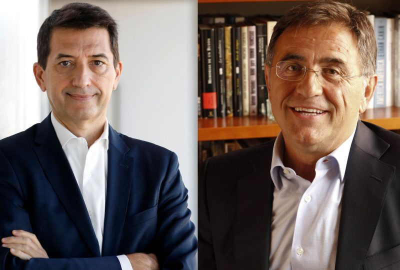 Javier Andrés y Rafael Doménech