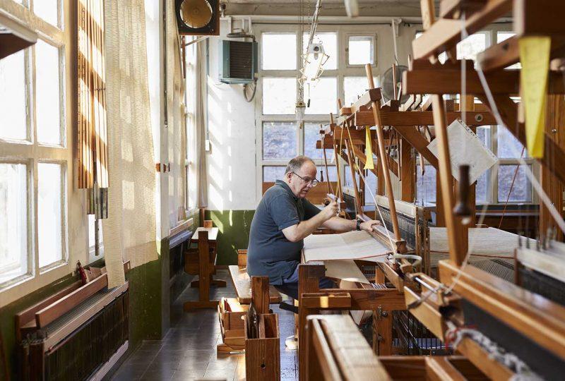 taller de tejidos local en Barcelona
